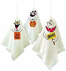 Idea Regalo - Unique - 3 palloncini decorazioni  fantasma di Halloween