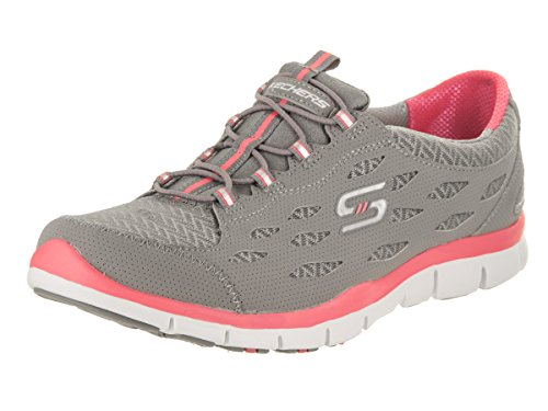 Skechers Sport Gratis Hit It Big Fashion Sneaker Grigio