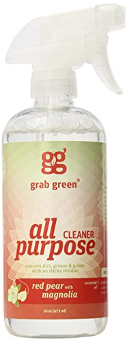 Grab Green All Purpose Surface Cleaner, Red Pear with Magnolia, 3 Count