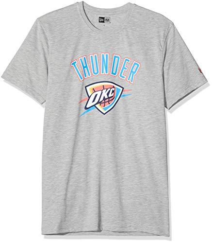 New Era Oklahoma City Thunder T-Shirt Herren, Grau, M