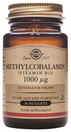 Solgar-Methylcobalamin 1000mcg Nuggets 30 -