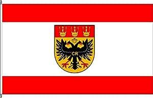 Hochformatflagge Kinderbeuern - 80 x 200cm - Flagge und Fahne