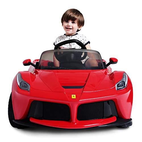 mecor Ride on Cars 12v Ferrari Children's Electric for sale  Delivered anywhere in UK