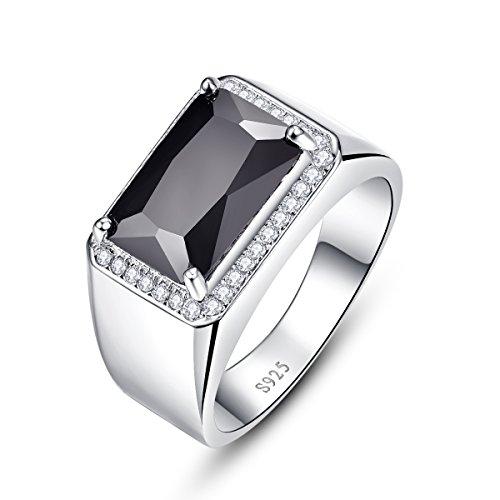 Bonlavie Herren -  925 Sterling-Silber  Sterling-Silber 925 Brilliant Rund emerald shape   G-H Spinelle