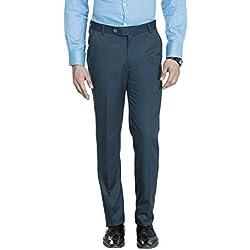 ManQ Men's Slim Fit Party/Formal Trousers (S19)