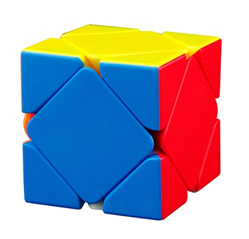 IndiaBuy MOYU Skewb Stickerless Speed Professional Quality Magic Rubik's Cube 3D - Brain Teaser Puzzles Recommended for 3 - 99 Years