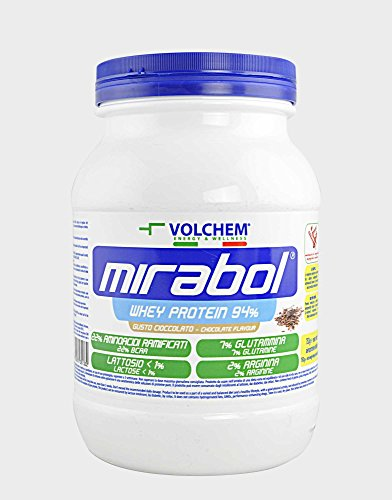 Volchem Mirabol Whey Protein 94%, 750 grammi, Cioccolato - 41%2Ba7Lhm5WL