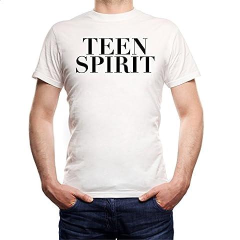 Teen Spirit T-Shirt Blanc-XXL