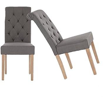 Esszimmerstühle modern rund  Esszimmerstühle 2er Set Cocktailsessel Design - Stühle mit ...
