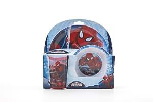 Ultimate Spiderman 3-Piece Melamine Tableware Set