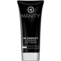 """Manity """"Be Perfect"""" Covering Day Cream 40 Ml - Crème de jour teintée (BB Crème Jour, CC Crème, teinté Q10Plus) à laminage des petites imperfections et les rougeurs, lui et pour elle."""
