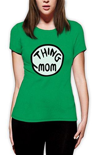 Sache Mom Frauen Grün XX-Large (Kostüme Mom Passenden Halloween)