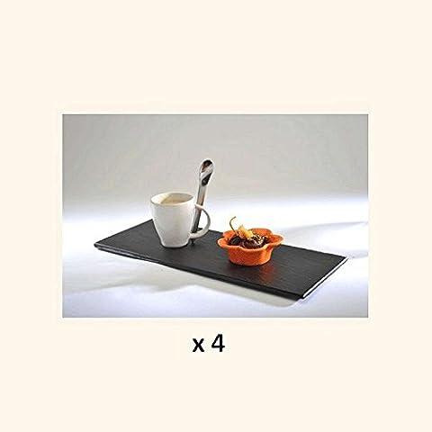 COUVERTS Service café gourmand 12 pièces