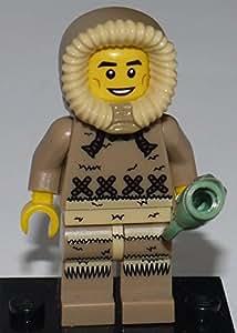 LEGO Figurines à Collectionner: Ice Pêcheur (Eskimo) Mini-Figurine (Série 5)