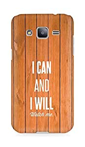 AMEZ i can and i will watch me Back Cover For Samsung Galaxy J2