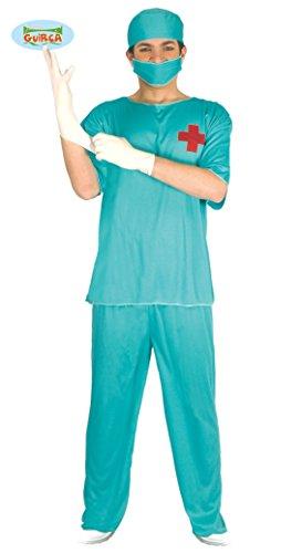 OP Chirurg Kostüm für Herren Gr. M/L, (Kostüm Ideen Horror Filme)