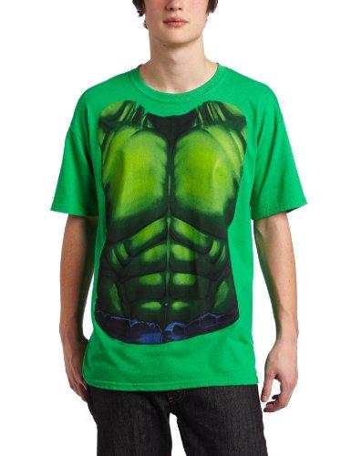 h Chest Mens Green T-Shirt | XXL (Hulk Smash Kostüme)