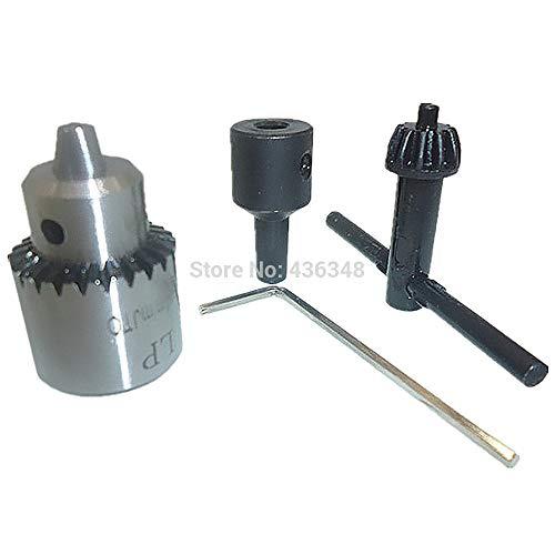 Elektrische Pneumatische Bohrfutter 0,3 Mm-4 Mm Kapazität Chuck Schlüsseldrehmaschine Diy Jewllery Making Tool Jt0 W / 5 Mm Motorwelle Bohrschelle - Core Drill Motor