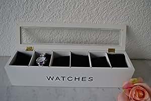 «montres montres blanc avec verre 38 x 9 cm