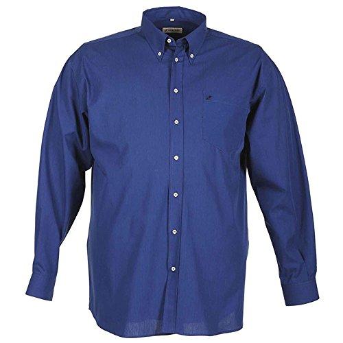 Camicia taglie forti uomo Maxfort FILAFIL a manica lunga - Azzurro, 3XL