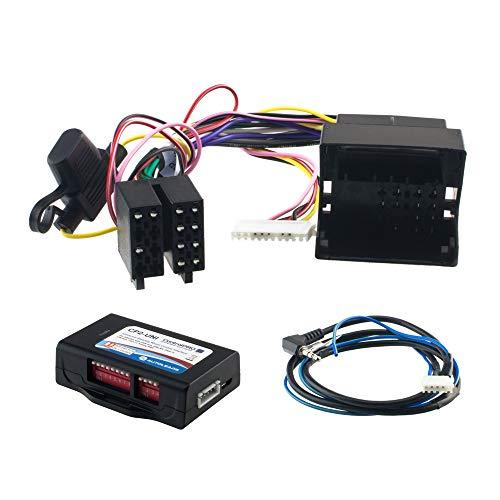 Autoleads SWI CP2-BM52 Volant Télécommande pour BMW, Mini & Mercedes avec Can-Bus et Quadlock