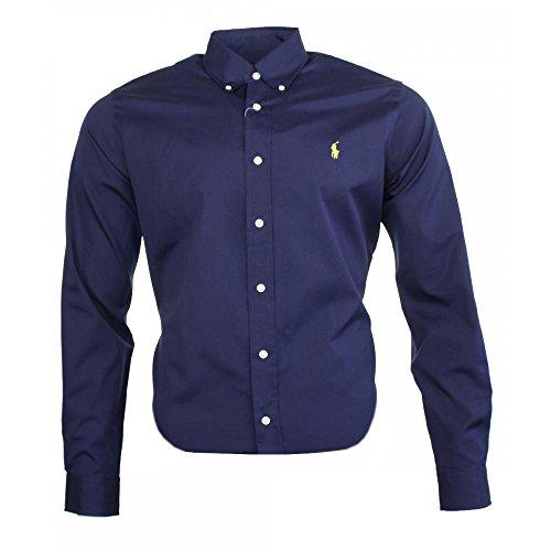Ralph Lauren Herren Classic Business Hemd Navy (XL)