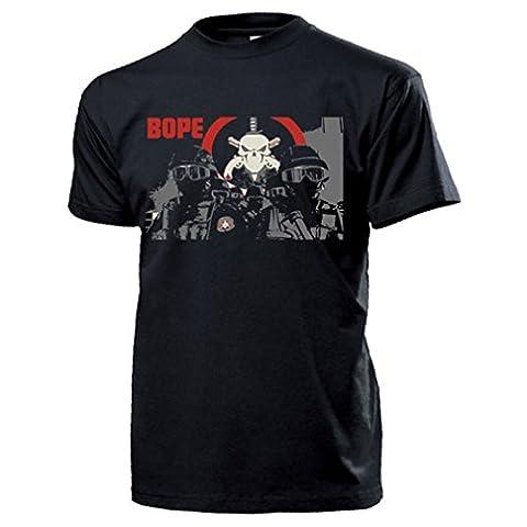 BOPE brazi batalhão de operações policiais especiais pMERJ unités spéciales d'intervention des producteurs brésiliens gén. de division saw hla brésil rio de janeiro-t#14537 t-shirt - Noir - Large