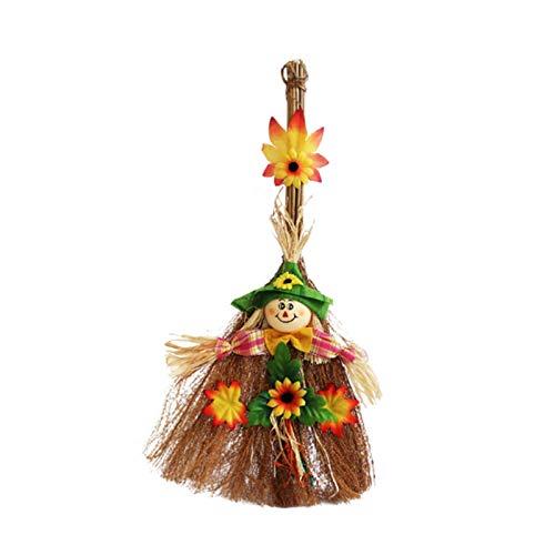 Eli-CHANBG Halloween Dress Up Plastic Witcher Broom