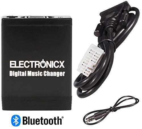 Electronicx Elec-M06-HON2-BT Adaptateur USB, MP3, AUX, SD, CD, Bluetooth, kit Mains Libres Interface Honda Accord Civic