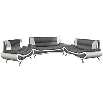 3 2 1 sofagarnitur couchgarnitur loungesofa lille leder. Black Bedroom Furniture Sets. Home Design Ideas