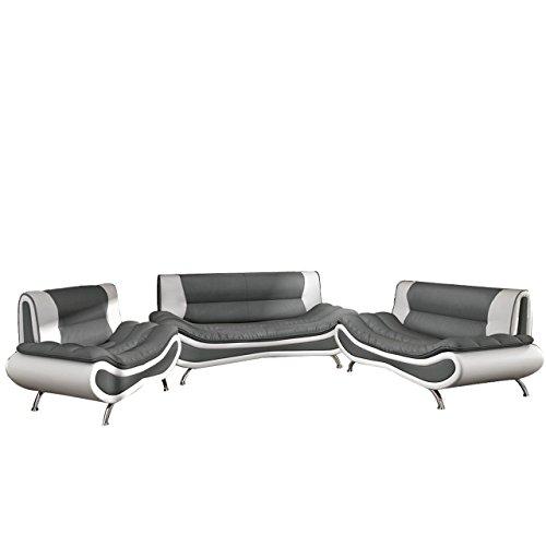 Peso 3+2+1 ! Sofagarnitur ! Moderne Sofas Sofa Couch! Große Farbauswahl! Design Couchgarnitur (Polstergarnitur ohne Couchtisch, D-511 + D-4)