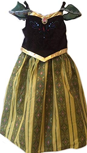 Disney Land Authentic Princess Anna Coronation Dress Size 6 Ships Out Same Day. (Disney Coronation Princess)