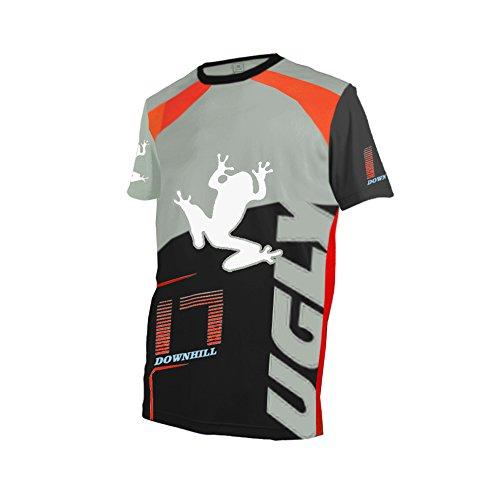 Uglyfrog HWCX01 2018-2019 Element Racewear Trikot MX Motocross Downhill Jersey Shirt Enduro Offroad Motorrad Quad Cross Erwachsene Fahrradbekleidung Fahrrad Breathable MTB Kurzarm Sommer T-Shirts