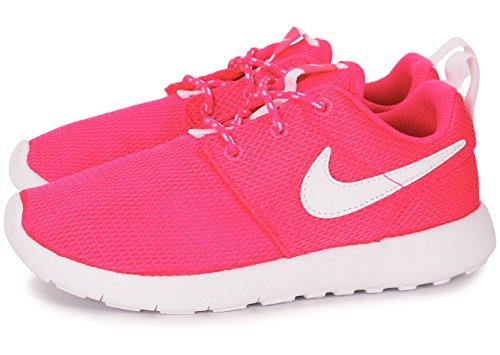 Nike Roshe one (PS) 749422-609, Kindersneaker Multicolore - Rosa / Blanco (Hyper Pink / White)