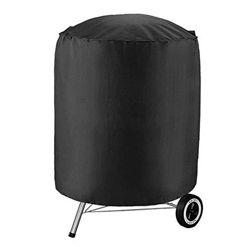 Copertura barbecue impermeabile,vococal coperture per barbecue copertura per barbecue rotondo,copertura per barbecue esterna barbecue coperchio di protezione (27,56 x 27,56 pollici)