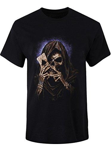 Alchemy T-Shirt England Reaper's Ace da uomo in nero