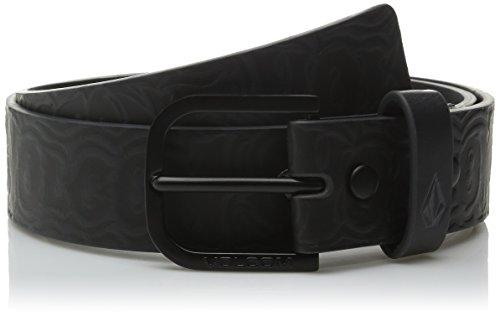 Volcom Belt Draft Belt, Asphalt Black, 38, d5921601asb