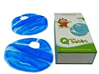 Quirky Bubba Gel Breast Feeding Pads - Reusable - Hot or Cold - Reduces Nursing Soreness