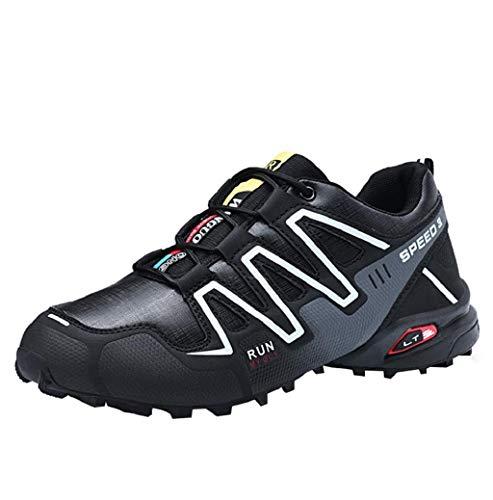 Jimmackey- Scarpe Antinfortunistiche Uomo con Punta in Acciaio Scarpe da Lavoro Antinfortunistiche Sportive Sneaker Ultraleggeri Traspirante