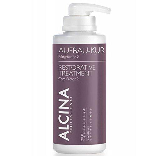 Alcina Aufbau-Kur Pflegefaktor 2 500 ml Intensive Haarkur für extrem-strapaziertes Haar