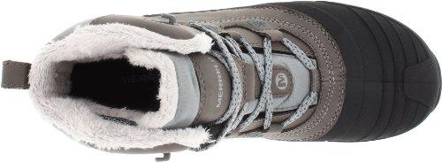 Merrell Snowbound Mid WTPF J55624, Bottes femme Noir - nero (Charcoal)