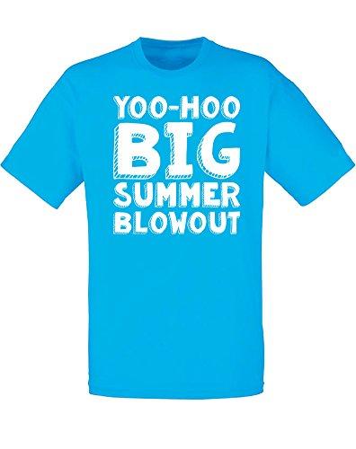 yoo-hoo-big-summer-blowout-hombres-camiseta-impresa-azur-blanco-l-104-109-cm