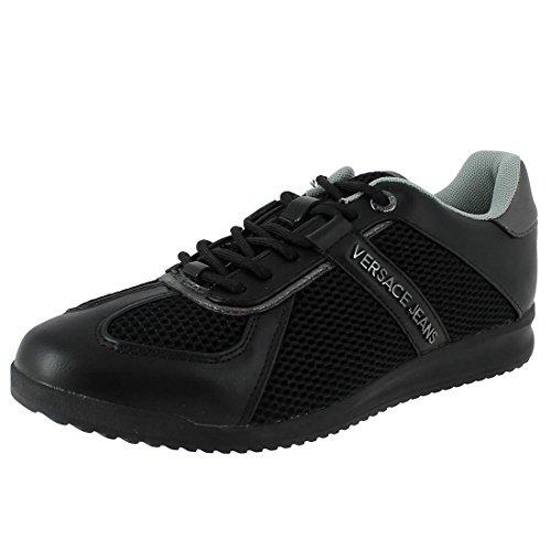Versace Jeans Sneaker Uomo DisB2 Coated/Mesh E0YPBSB2899, Scarpe sportive Noir