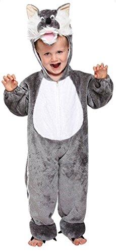 Imagen de suave lobo bebé fancy dress disfraz edad 3 años