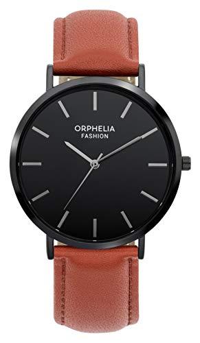 Orphelia Fashion Herren Analog Quartz Uhr Forest mit Leder Armband