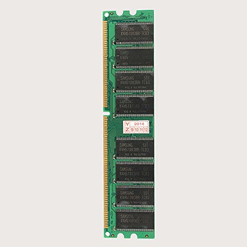 1 GB DDR 400 PC3200 Non-ECC Low Density Desktop DIMM RAM 184 pins -