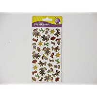 Purple peach sticker sheet - cowboys stickers