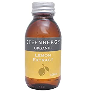 Steenbergs Organic Lemon Extract 100ml