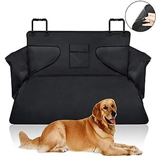 Bogeer Kofferraummatte Kofferraumschutz Hund Ladekantenschutz Hundedecke Universal Auto Kofferraum schutzmatte Wasserdichter für Van/SUV 185 x 105 x 36 cm