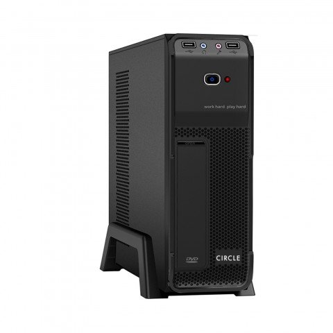 Circle Stick Capsule MIcro Series Cabinet with SMPS for Micro ATX / ITX Motherboards